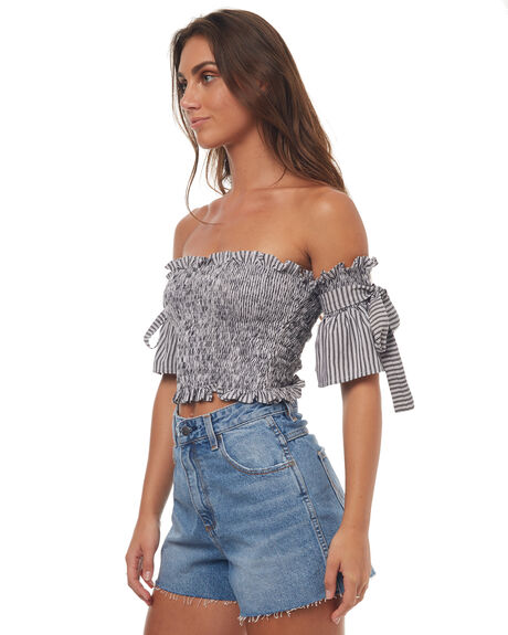 STRIPE WOMENS CLOTHING RUE STIIC FASHION TOPS - SRC1PSTR