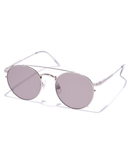SILVER SMOKE GREY UNISEX ADULTS CRAP SUNGLASSES - 171WB90GGZSLVSM