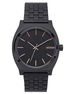 ALL BLACK ROSE GOLD MENS ACCESSORIES NIXON WATCHES - A045957957