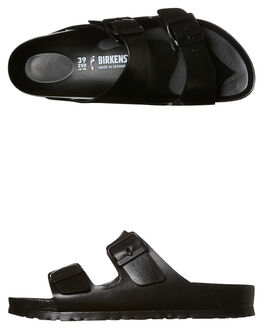 BLACK WOMENS FOOTWEAR BIRKENSTOCK FASHION SANDALS - 129423BLK