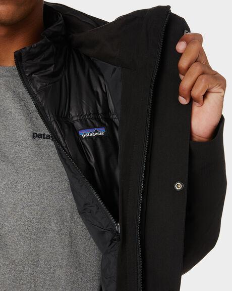 BLACK MENS CLOTHING PATAGONIA JACKETS - 28388BLK