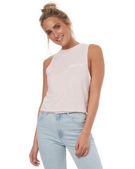 LILAC WOMENS CLOTHING BILLABONG SINGLETS - 6572194013