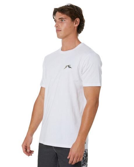 WHITE MENS CLOTHING RUSTY TEES - TTM2415WHT