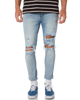 OUTLAW BLUE MENS CLOTHING WRANGLER JEANS - W-901492-Z50OLBL