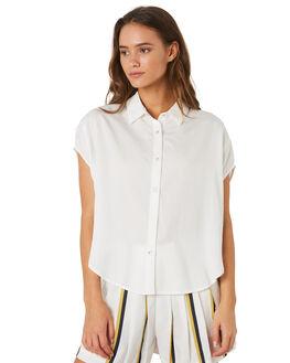 WHITE WOMENS CLOTHING SANCIA FASHION TOPS - 801AWHI