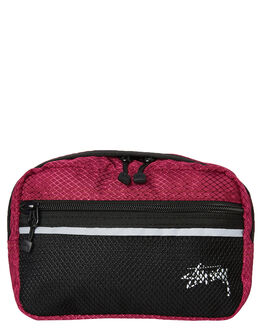 PLUM OUTLET MENS STUSSY BAGS + BACKPACKS - ST793014PLUM