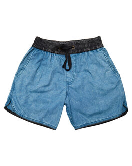 BLUE KIDS TODDLER BOYS CHILDREN OF THE TRIBE SHORTS - BYDR0327BLU