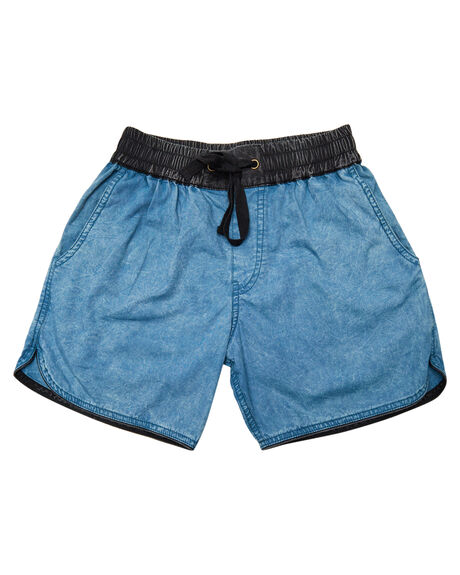 BLUE KIDS BOYS CHILDREN OF THE TRIBE SHORTS - BYDR0327BLU