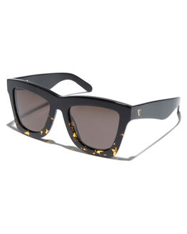GLOSS BLACK TORT MENS ACCESSORIES VALLEY SUNGLASSES - S0354GLBLK
