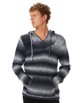 STONE GREY MENS CLOTHING RUSTY KNITS + CARDIGANS - CKM0341SOG
