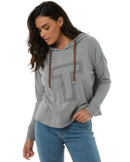 GREY MARLE WOMENS CLOTHING TIGERLILY JUMPERS - T385201GREY