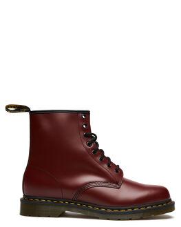 CHERRY MENS FOOTWEAR DR. MARTENS BOOTS - SS11822600CHEM