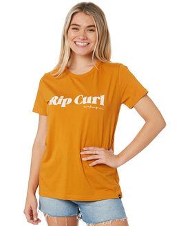 HONEY WOMENS CLOTHING RIP CURL TEES - GTEIU90205