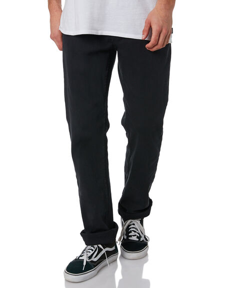 BLACK MENS CLOTHING BILLABONG JEANS - 9565352BLK