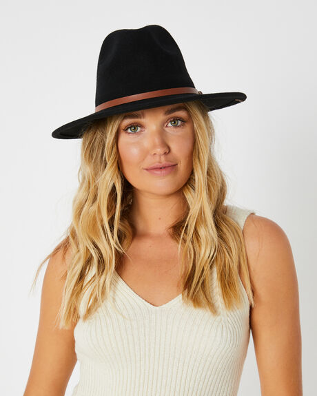 BLACK WOMENS ACCESSORIES RIP CURL HEADWEAR - GHAGB10090