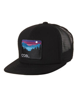BLACK MENS ACCESSORIES COAL HEADWEAR - COCAHAUBLK