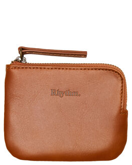 TAN MENS ACCESSORIES RHYTHM WALLETS - ACC00M-ZW01-TAN