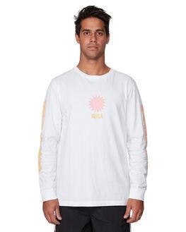 WHITE MENS CLOTHING RVCA TEES - RV-R107094-WHT