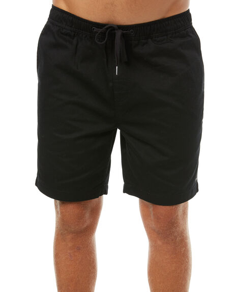 BLACK MENS CLOTHING IMPERIAL MOTION SHORTS - 201701008007BLK