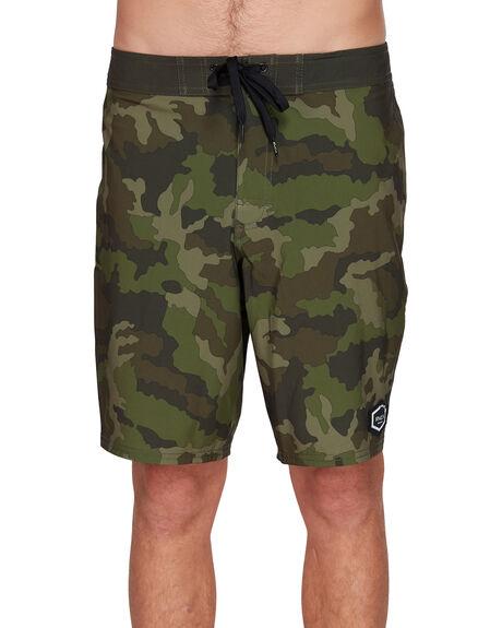 CAMO MENS CLOTHING RVCA BOARDSHORTS - RV-R305416-CMO