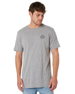 GREY MARLE OUTLET MENS SWELL TEES - S52011023GRYMA