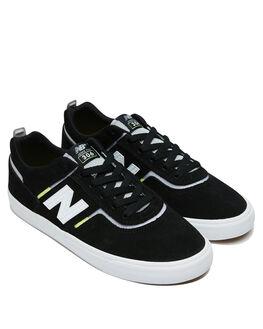 BLACK WHITE MENS FOOTWEAR NEW BALANCE SNEAKERS - NM306BLLBLKW