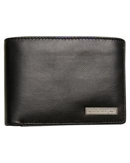 BLACK MENS ACCESSORIES RUSTY WALLETS - WAM0521BLK