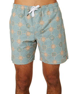 TEAL MENS CLOTHING RHYTHM BOARDSHORTS - APR19M-JM04-TEA