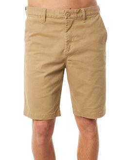 KHAKI MENS CLOTHING DC SHOES SHORTS - EDYWS03101CLM0