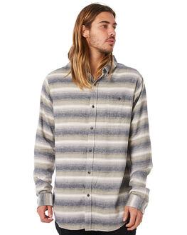 OLIVE MENS CLOTHING EZEKIEL SHIRTS - EL174035OLIV
