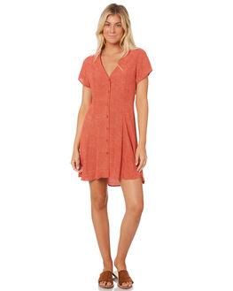 RED MINI SPOT WOMENS CLOTHING ROLLAS DRESSES - 12942-3512