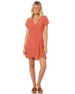 RED MINI SPOT WOMENS CLOTHING ROLLAS DRESSES - 12942-3512