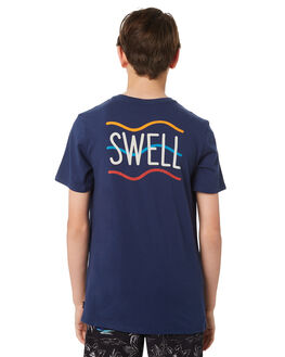 NAVY KIDS BOYS SWELL TOPS - S3184015NAVY