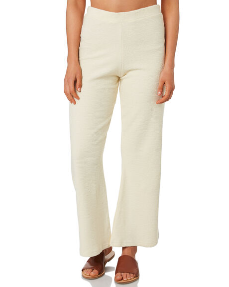 CREAM WOMENS CLOTHING ZULU AND ZEPHYR PANTS - ZZ2746CRM
