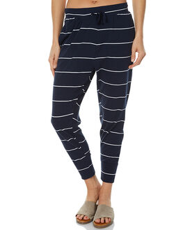 WHITE NAVY WOMENS CLOTHING SILENT THEORY PANTS - 6090040STR
