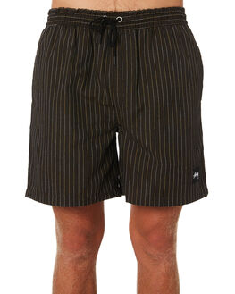 DARK BROWN MENS CLOTHING STUSSY SHORTS - ST091606DKBRN