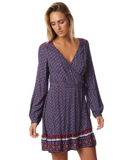 AUBERGINE WOMENS CLOTHING TIGERLILY DRESSES - T373411AURB