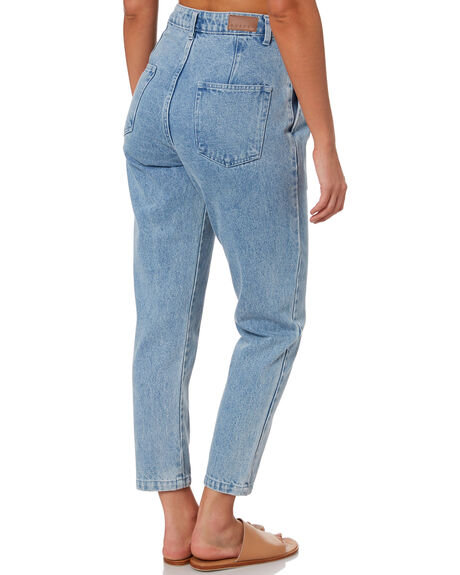 SKY BLUE WOMENS CLOTHING RUSTY JEANS - PAL1212SYB