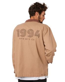 TAN MENS CLOTHING RPM JACKETS - 20AM25A2TAN