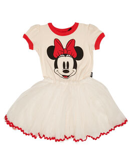 CREAM KIDS TODDLER GIRLS ROCK YOUR BABY DRESSES + PLAYSUITS - TGD18128-DDCRE