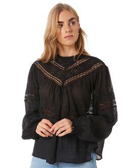 BLACK WOMENS CLOTHING FREE PEOPLE FASHION TOPS - OB10740690010