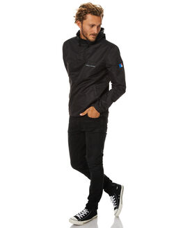 BLACK MENS CLOTHING ZOO YORK JACKETS - ZY-MJB7016BLK