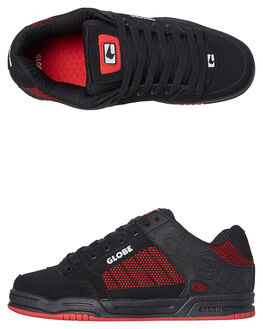BLACK RED KNIT MENS FOOTWEAR GLOBE SKATE SHOES - GBTILT-20342