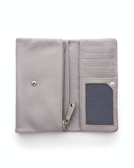 MISTY GREY WOMENS ACCESSORIES STITCH AND HIDE PURSES + WALLETS - WW_PAIGET_MISTY_GR