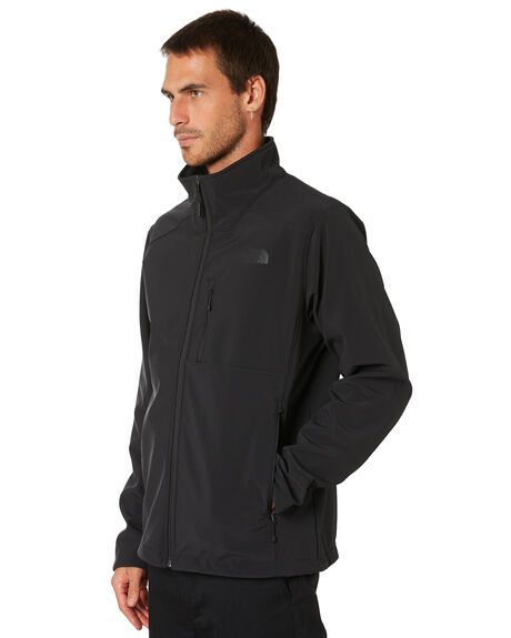 TNF BLACK BLACK MENS CLOTHING THE NORTH FACE JACKETS - NF0A2RE7KX7