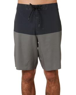 GUNMETAL BLOCK MENS CLOTHING OUTERKNOWN BOARDSHORTS - 1810027GLB