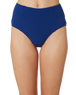 OCEAN BLUE WOMENS SWIMWEAR SEA LEVEL BY NIPTUCK BIKINI BOTTOMS - SL4010RROCNBL