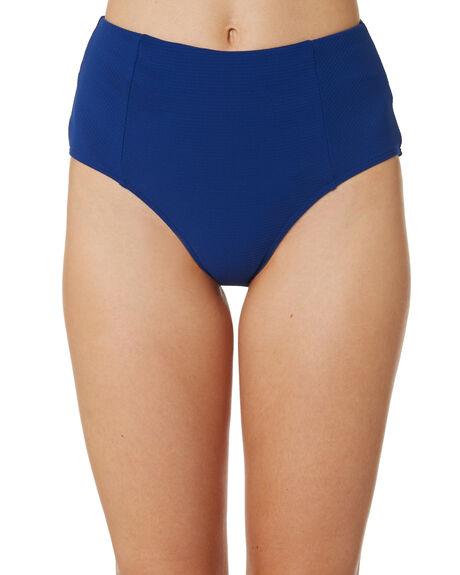 OCEAN BLUE WOMENS SWIMWEAR SEA LEVEL BY NIPTUCK BIKINI BOTTOMS - SL4010RROCNBL