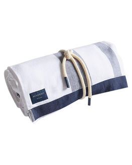 NAVY WATERMELON MENS ACCESSORIES ACADEMY BRAND TOWELS - 19S013NVYWN
