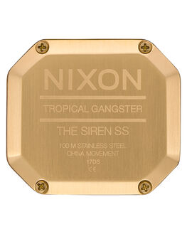GOLD WHITE WOMENS ACCESSORIES NIXON WATCHES - A1211508